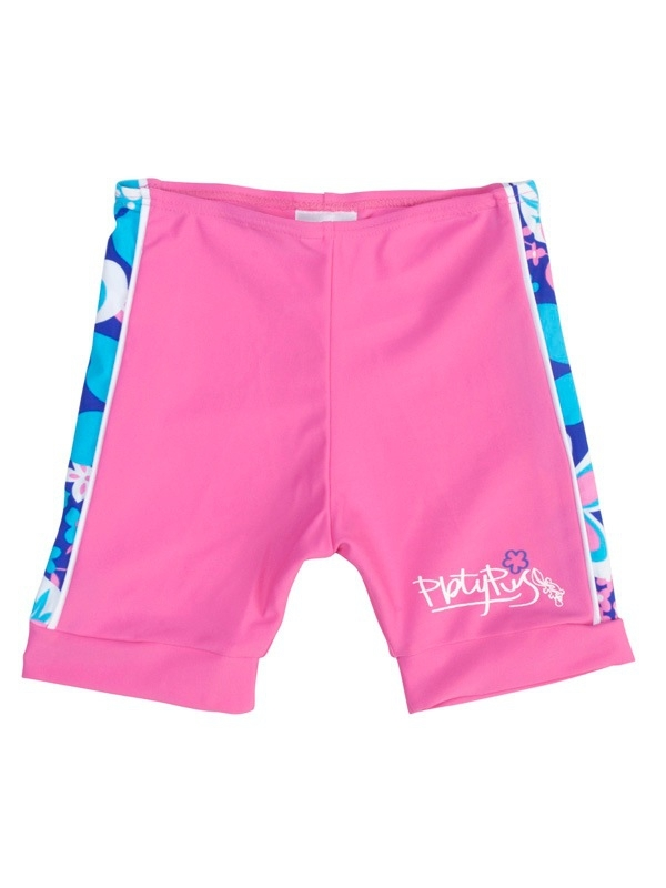 Platypus – Swim Set Pacifc Flower: Langärmliges UV-Schwimmshirt & UV-Short