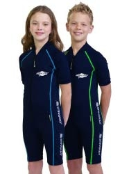 Stingray Australia – Youth Raysuit S/S Sports Style: Kurzärmlige UV-Raysuit