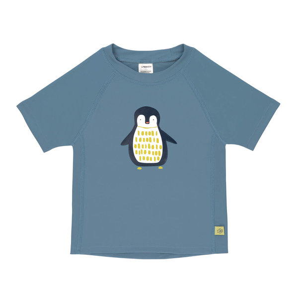 Lässig – Short Sleeve Rashguard Penguin Niagara Blue: Kurzärmliges UV-Shirt